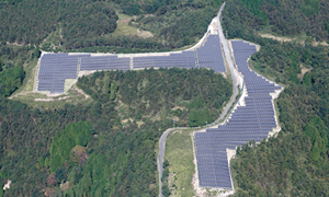 大分県 耶馬溪太陽光第一・第二発電所