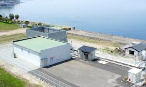 長崎県 小浜温泉バイナリー発電所