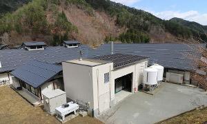 岐阜県 飛騨高山しぶきの湯バイオマス発電所