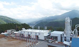 愛媛県 内子バイオマス発電所