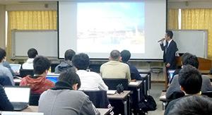 神戸大学大学院科学技術イノベーション研究科にて講義を行いました。