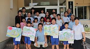 島根県の小学校に出前授業