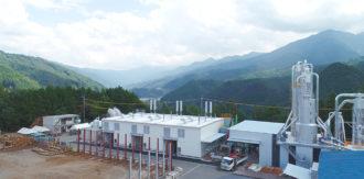 愛媛県内子町のバイオマス発電所、10月末竣工